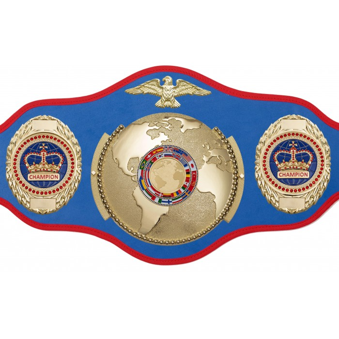 CHAMPIONSHIP BELT PRO018/FLAG/G/BLUGEM/G IN 6 COLOURS